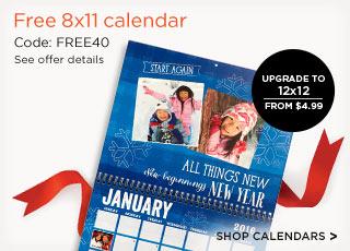 Shutterfly Free 8x11 Photo Calendar Bargains To Bounty