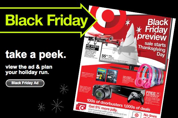 2e3147a8e5a Target Black Friday Ad 2015 • Bargains to Bounty