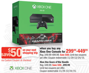 best xbox one deals black friday 2015 bargains to bounty