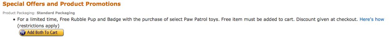 amazon paw patrol
