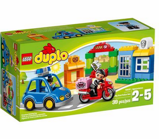 lego duplo ville my first police set