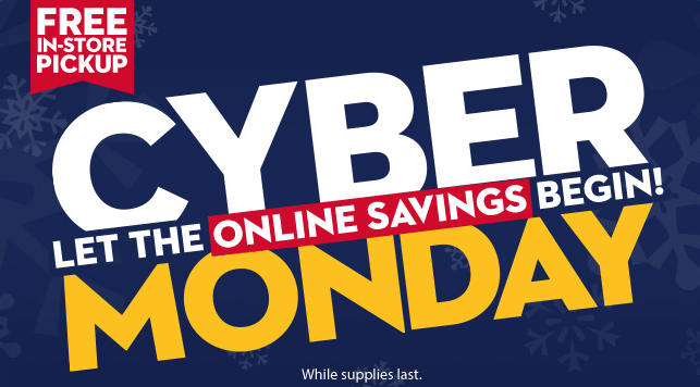 walmart cyber monday deals start now bargains to bounty. Black Bedroom Furniture Sets. Home Design Ideas