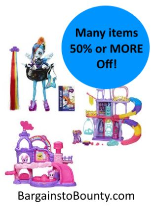 My Little Pony Toys Deal - Save 50% off or more! • Bargains