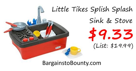 Little Tikes Splish Splash Sink & Stove at Lowest Recorded Price ...
