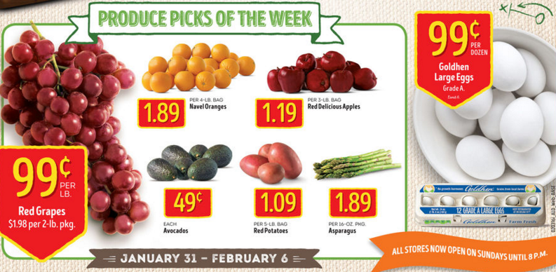 aldi deals produce