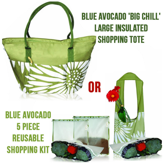 blue avocado bags