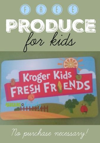 Kroger Kids Fresh Friends