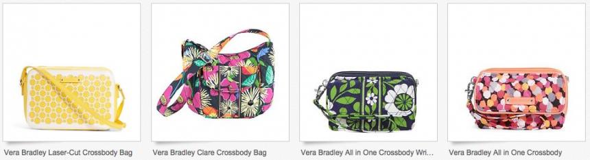d562f2226c  18.74 Vera Bradley Crossbody Bags (free shipping) • Bargains to Bounty