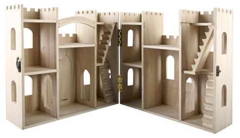 Diy Gift Budget Make Wood Castle Dollhouse on Wood Doll Furniture Plans