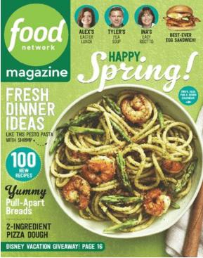 Food Network magazine deal