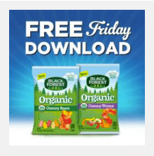 kroger coupon free black forest gummy candy