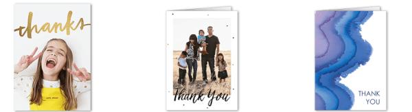 tiny prints thank you