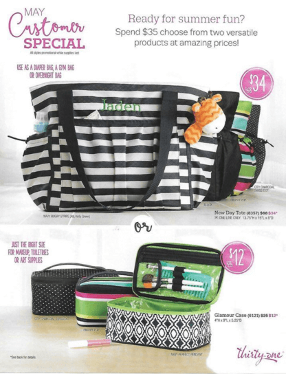 thirty-one may specials