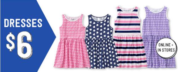 crazy 8 sale $6 dresses
