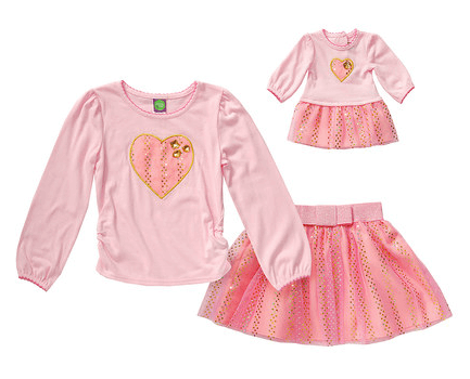 7.99 Dollie   Me Matching Outfits for girls and 18 inch dolls ... 3abacd378