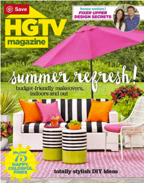 hgtv magazine sale
