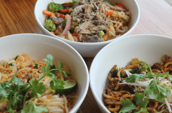Noodles & Company Asian dishes