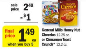 general mills cereal meijer