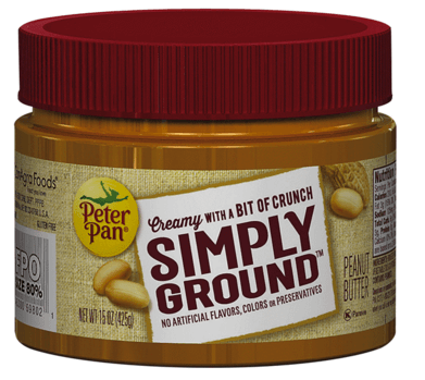 meijer peter pan simply ground peanut butter