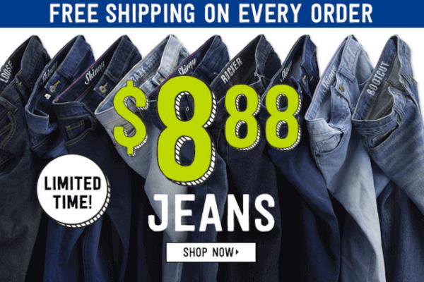 crazy 8 sale jeans