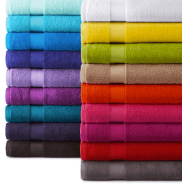 3 99 Jcpenney Home Bath Towels Reg 12 Bargains To