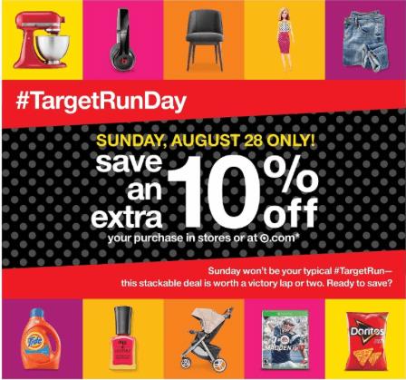 target run day