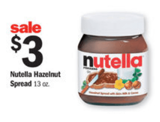 graphic regarding Nutella Printable Coupon identify Refreshing: $2.00/1 Nutella Coupon (Simply $1 at Meijer) Savings
