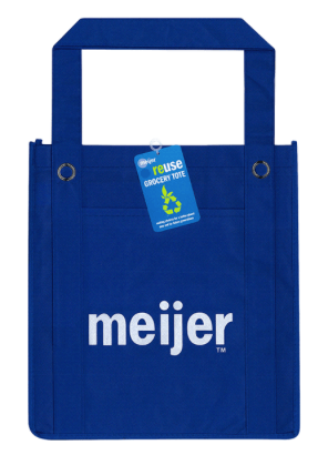 meijer reusable shopping tote