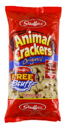 stauffers animal crackers