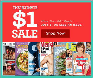 fall magazine sale