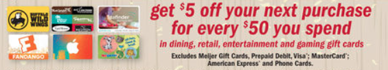meijer mperks rewards gift cards
