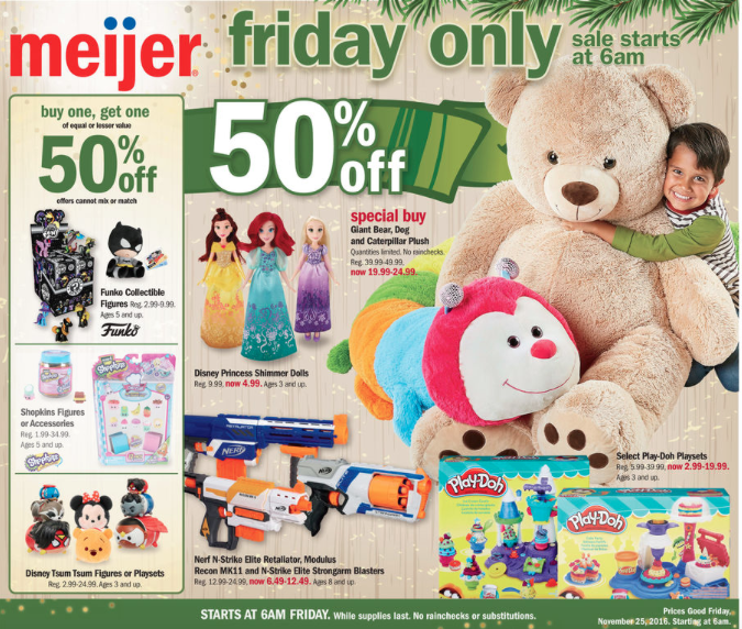 meijer black friday sale