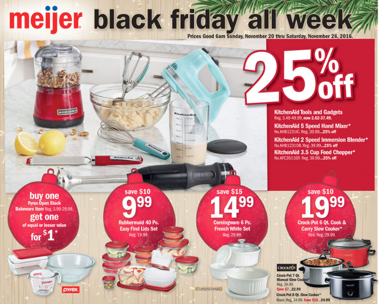meijer black friday week sale