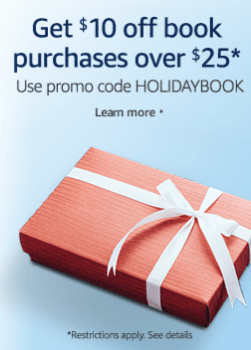 Extended amazon coupon code 10 off 25 book purchase bargains amazon coupon code fandeluxe Images