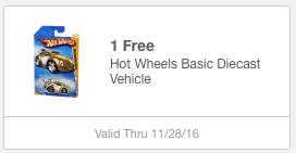 meijer mperks free hot wheels vehicle