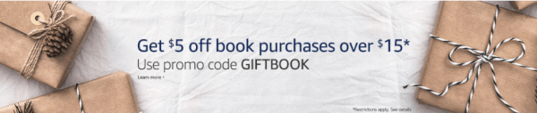 amazon coupon code book