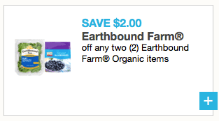 Earthbound Farm organic coupon: Save $2 off any 2 products