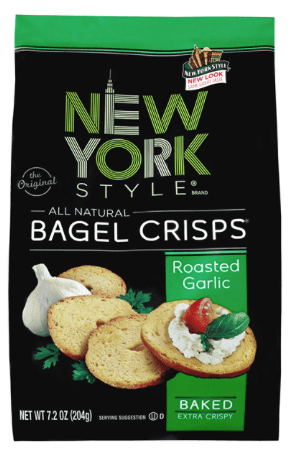 new york bagel crisps
