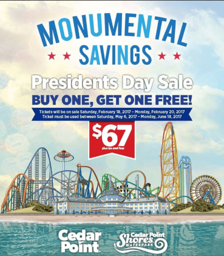 -Final season for Cedar Classic Miniature Golf -Cedar Point announces the price of junior admission will be drastically reduced for the season -Funday admission for 48