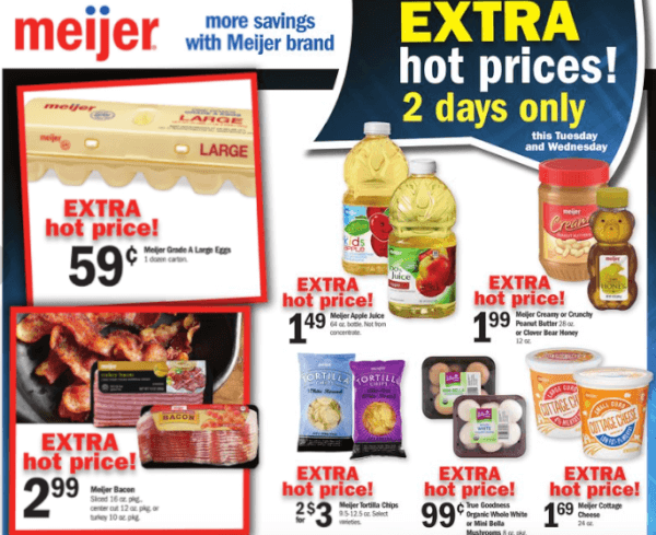 meijer 2 day sale