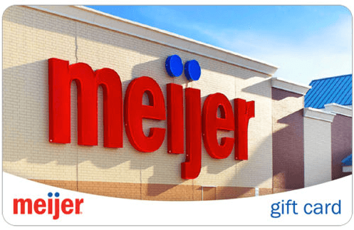 Meijer Gift Card Pay 94 For 100 Bargains To Bounty