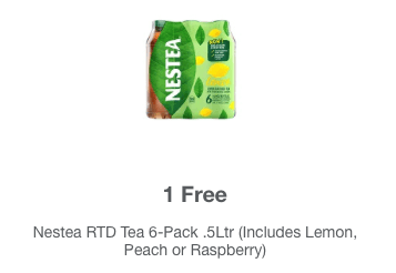 meijer mperks coupon nestea 6 pack