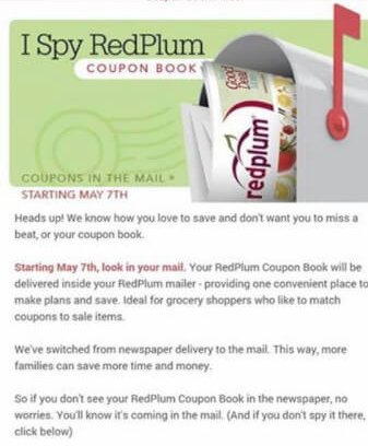 6/23/13 red plum coupon booklet preview youtube.