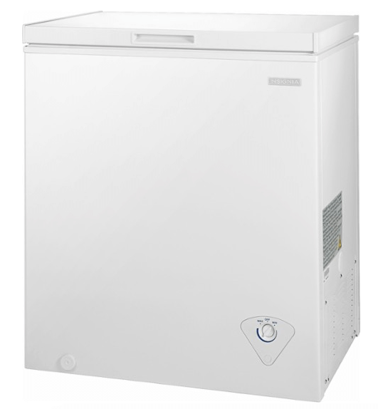 insignia chest freezer sale