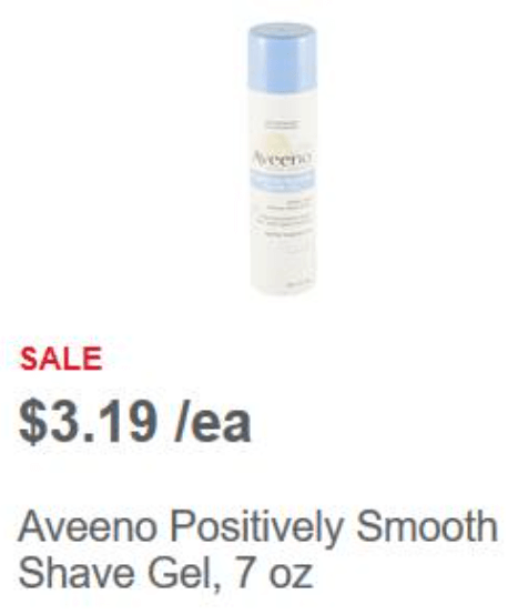 NEW $3/1 Aveeno Coupon: $0.19 Shave Gel at Meijer • Bargains to Bounty