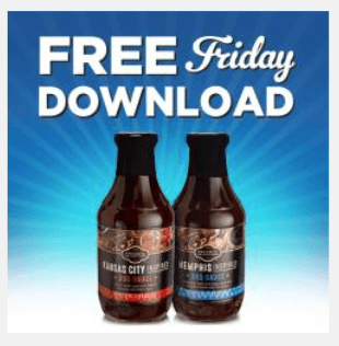kroger coupon free private selection bbq sauce