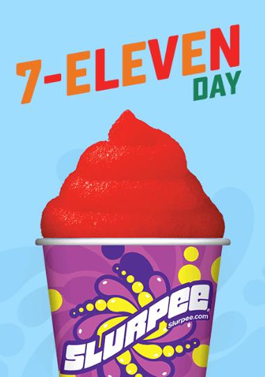 7-eleven free small slurp