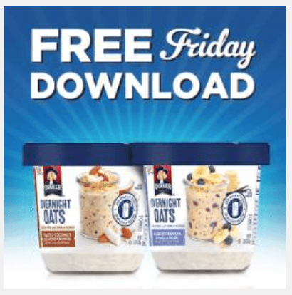 kroger coupon free overnight oats