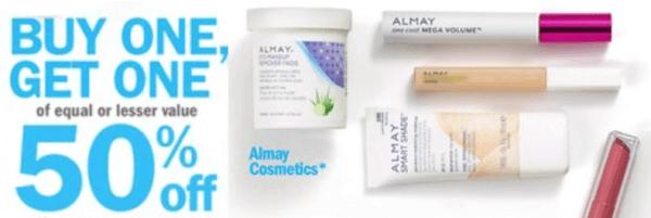 meijer almay cosmetics moneymaker deals