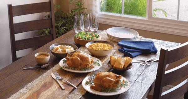boston market rotisserie chicken family meal